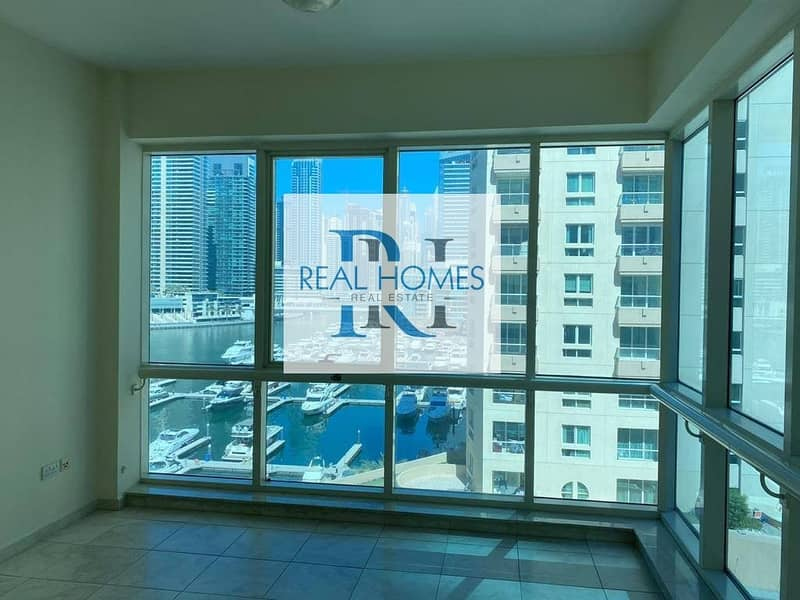 Chiller Free! 3 Bedroom  with Maid! Full Marina & Yacht Club View
