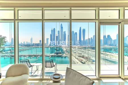 4 Bedroom Apartment for Sale in Dubai Harbour, Dubai - Unbeatable Beach Location | 4 Bedroom High Floor