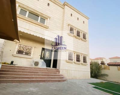 5 Bedroom Villa for Rent in Mohammed Bin Zayed City, Abu Dhabi - WITH DRIVER ROOM 5 MASTER BED ROOM WITH YARD