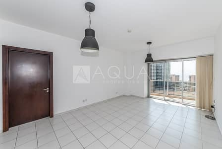 1 Bedroom Flat for Rent in Dubai Marina, Dubai - High Floor | Unfurnished | Vacant | Balcony