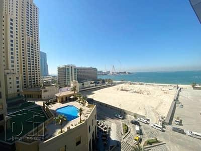 شقة 3 غرف نوم للايجار في جميرا بيتش ريزيدنس، دبي - Full Sea View | 3 Bedrooms | Unfurnished