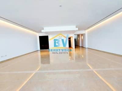 4 Bedroom Flat for Rent in Al Bateen, Abu Dhabi - |Lavish + Spacious |Full Sea View 4Bhk|Duplex|Facilities| Parking|4 Chqs|