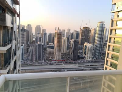 1 Bedroom Flat for Sale in Jumeirah Lake Towers (JLT), Dubai - Higher Floor | Large Balcony Pool View | Close to Metro