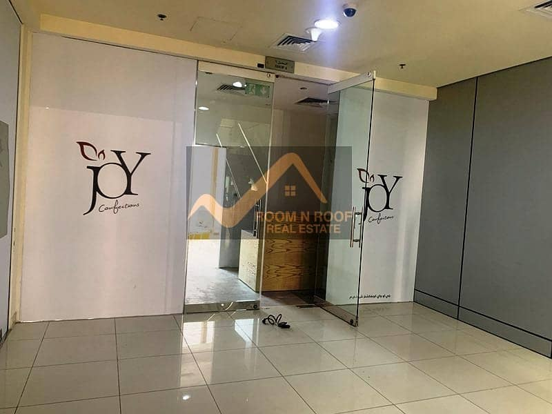 2 Burj Khalifa View| Fully Fitted Shop For Rent| Crystal Tower| Business Bay|