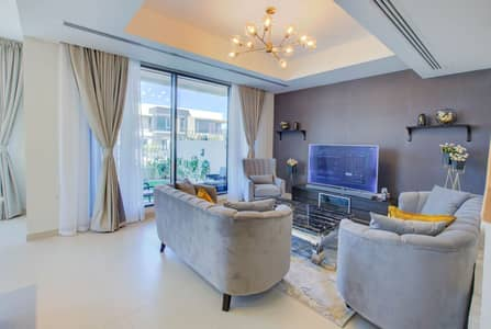 6 Bedroom Villa for Rent in Dubai Hills Estate, Dubai - Unbelievable De Maple Five Bedrooms + one maids room Villa in Dubai Hills