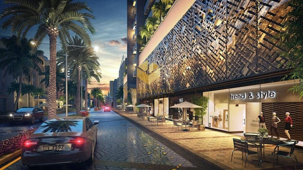 19 Shops for sale on the Canal and the Boulevard in Al-Mydan and Sheikh Mohammed Bin Rashid City