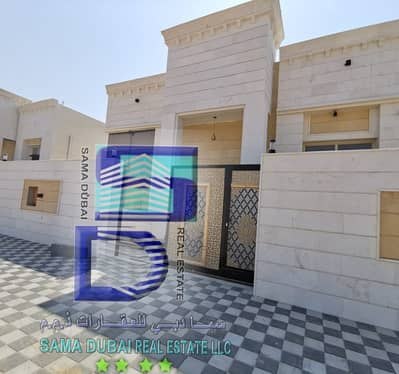 Villa for sale in the emirate of Ajman,yasmeen area, excellent new finishing, first inhabitant