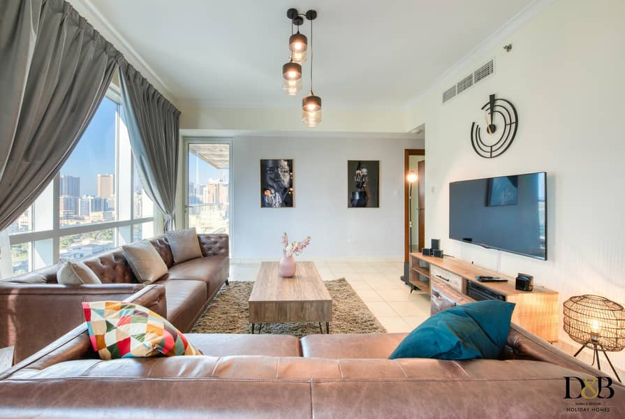Elegantly furnished and brand new 2 bedroom apartment in the Views