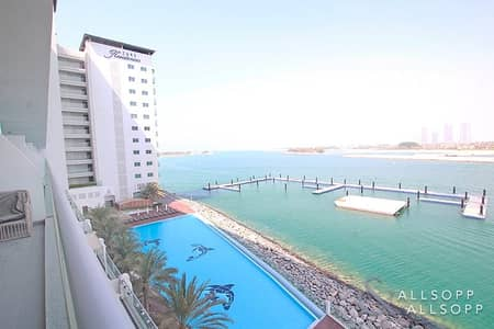 1 Bedroom Apartment for Rent in Palm Jumeirah, Dubai - 1Bed | Furnished | Beach Access | Sea View