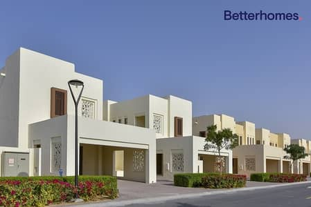 3 Bedroom Villa for Rent in Reem, Dubai - Type A | Corner Plot | Opposite Pool & Park