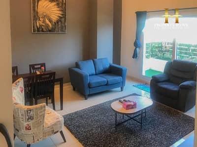 فلیٹ 1 غرفة نوم للايجار في قرية جميرا الدائرية، دبي - Fully Furnished 1 Bedroom | Ground Floor