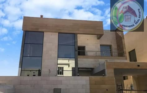 5 Bedroom Villa for Sale in Al Yasmeen, Ajman - A new villa for sale, the first inhabitant, with air conditioning, personal finishing, and one of the most luxurious villas in the Emirate of Ajman, a corner villa on my street