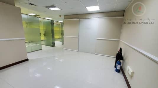 مکتب  للايجار في بر دبي، دبي - NO COMMISSION   PARTITIONED OFFICE