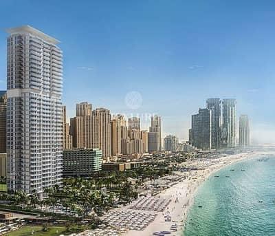 شقة 1 غرفة نوم للبيع في جميرا بيتش ريزيدنس، دبي - Spacious Beachfront   1 Bedroom Apartment for Sale   La Vie