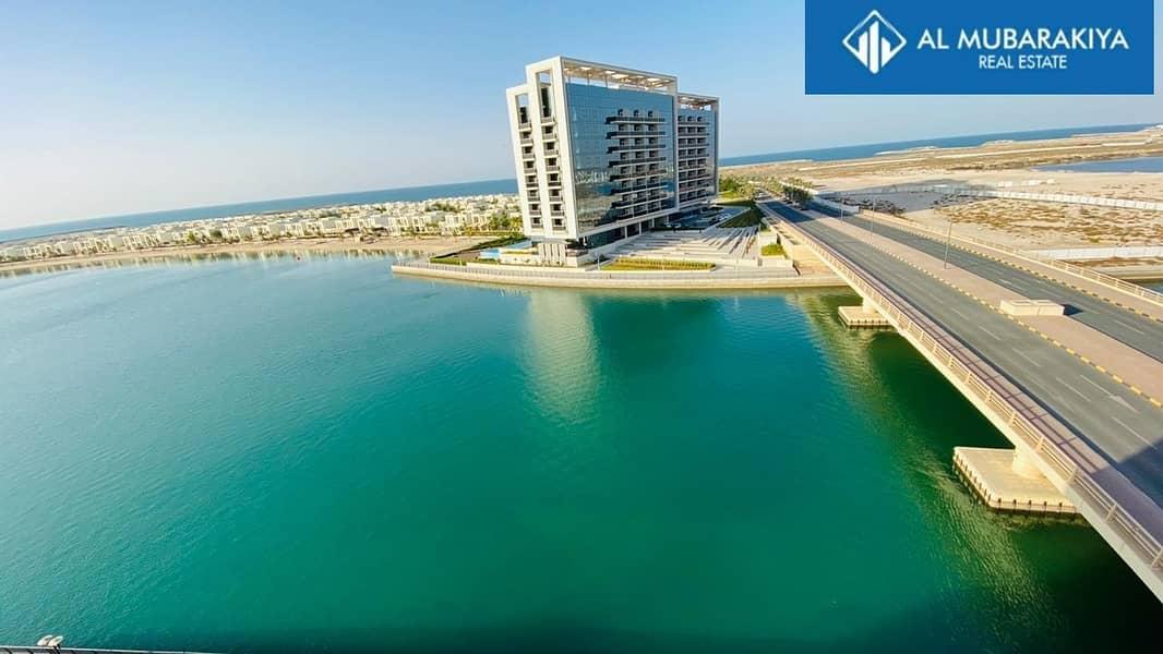 360 Degree Sea View Furnished Duplex 3BHK Mina Al Arab