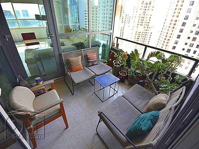 Upgraded | 2 Bed | High Floor | Rare Layout