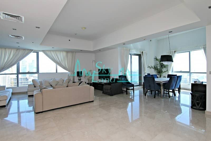 FULLY FURNISHED 5 BED PENTHOUSE IN BAY CENTRAL