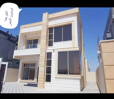 3 Bedroom Villa for Sale in Al Amerah, Ajman - Modern European design villa in the finest areas of Ajman for freehold all nationalities with the provision of bank assistance
