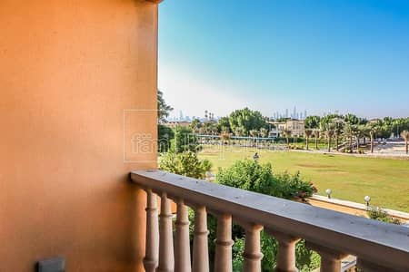 1 Bedroom Townhouse for Rent in Jumeirah Village Triangle (JVT), Dubai - Park Facing Single  Row- TH - Well maintained @75k