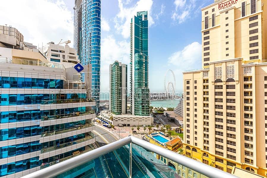 Luxury 2BR /Marina & Sea View/2Car Parking