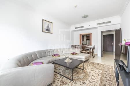 فلیٹ 1 غرفة نوم للبيع في دبي مارينا، دبي - Vacant 1 Bed Apartment with Marina Views