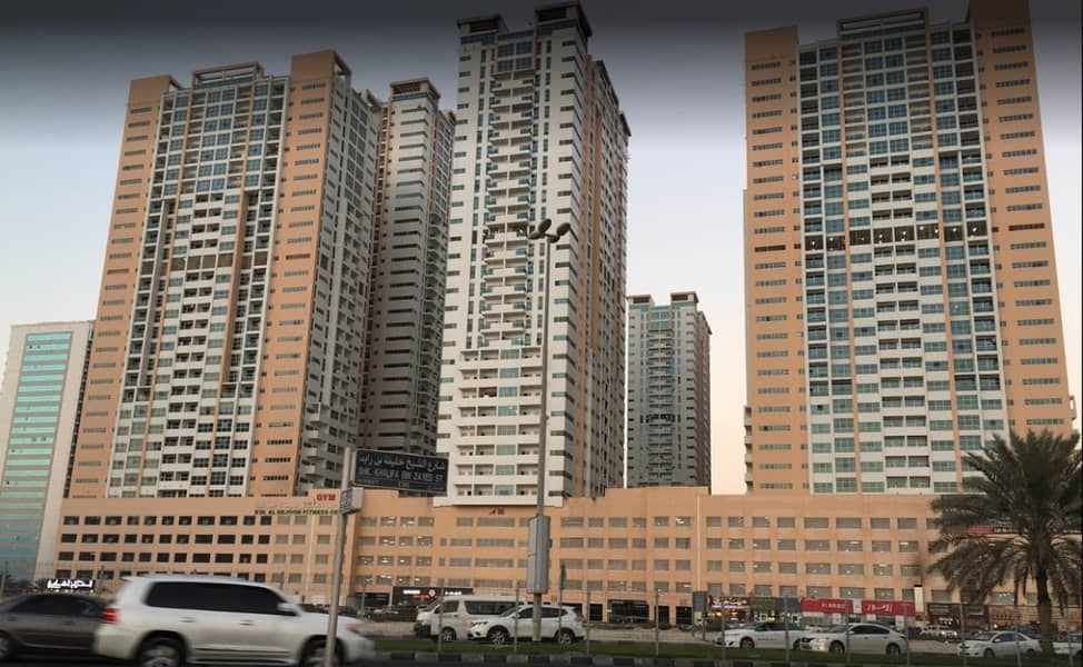 Own your 3 BHK Apartment for Sale in Ajman One Tower at just 44k down payment and instalments for 7 years