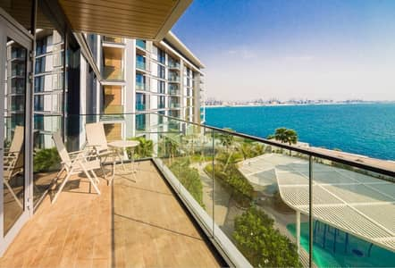 فلیٹ 1 غرفة نوم للايجار في جزيرة بلوواترز، دبي - LUXURY FULL FURNISHED 1 BR IN  SEA VIEW