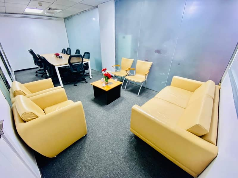 2 Fully Furnished Office Space with Versatile Payment Choice