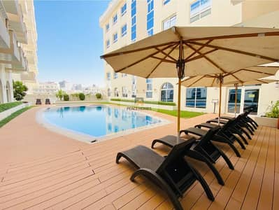 2 Bedroom Flat for Rent in Jumeirah Village Circle (JVC), Dubai - 100% CHILLER FREE | FULLY FURNISHED | BALCONY