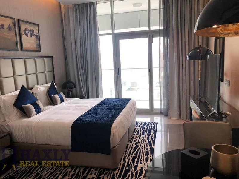 CHILLER FREE   FULLY FURNISHED STUDIO   45K IN 3-4 CHQS