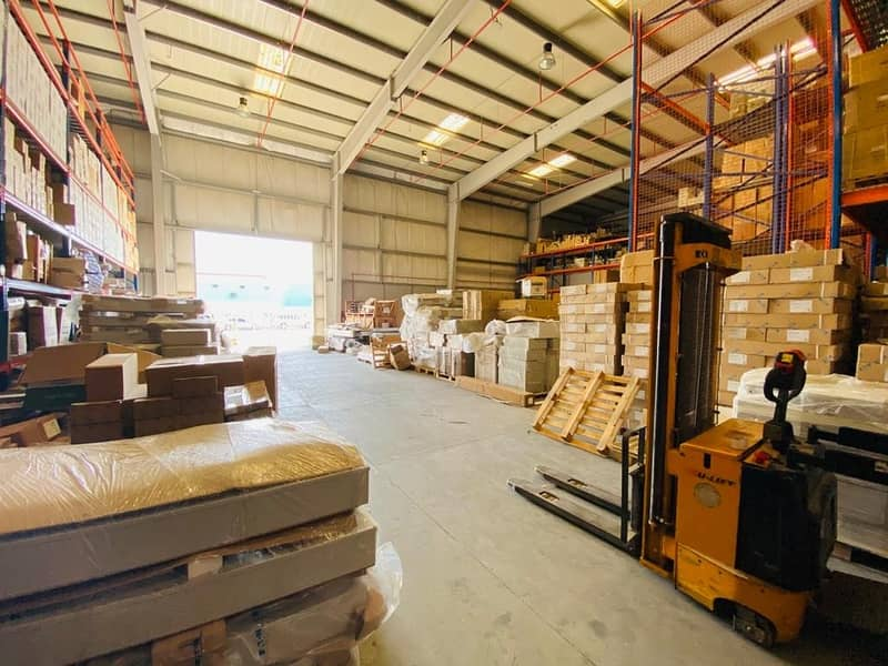 23 Big warehouse with offices available.