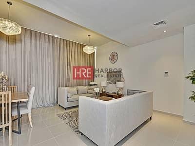 تاون هاوس 2 غرفة نوم للبيع في أكويا أكسجين، دبي - Fully Furnished | Private Garage | Kids Play Area