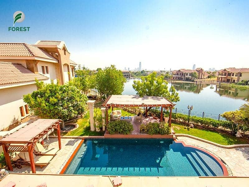2 Full Lake View | 5BR + M | Private Pool and Garden