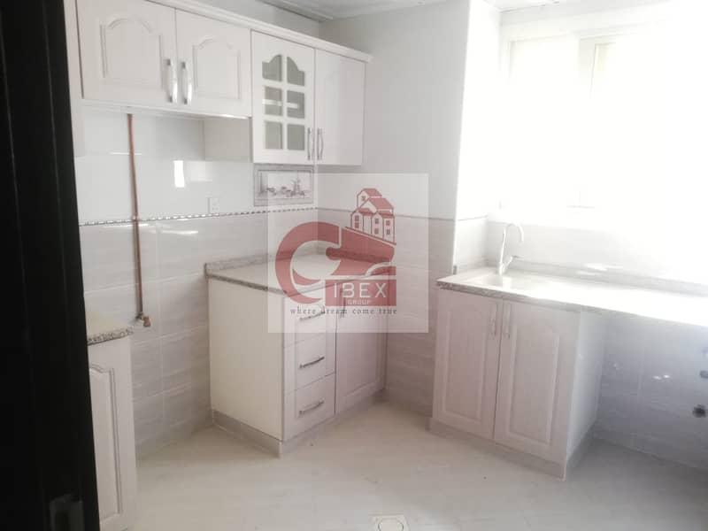 12 Brand new lavish 1bhk well finishing kitchen near to Al madina shopping center