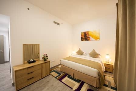 شقة 2 غرفة نوم للايجار في قرية جميرا الدائرية، دبي - Bedroom