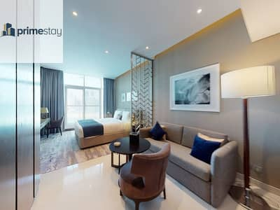 Studio for Rent in Business Bay, Dubai - Captivating and Fully furnished with Stunning View