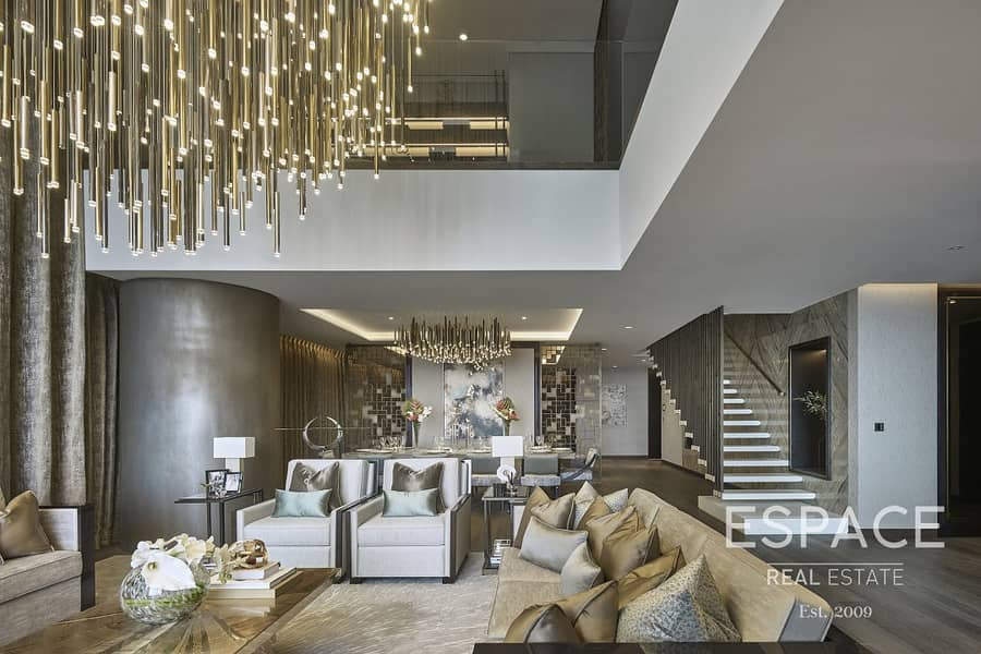 2 The Largest Triplex Penthouse in One Palm