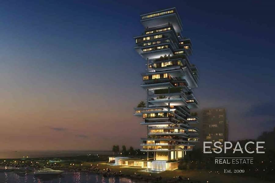 12 The Largest Triplex Penthouse in One Palm