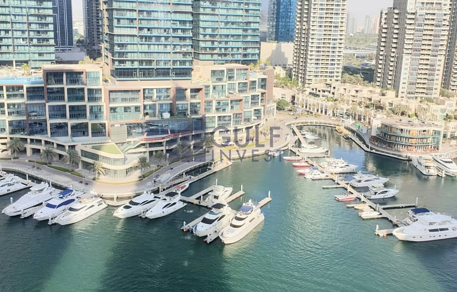 Stunning Marina view 2 master bedrooms furnished