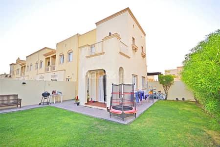 فیلا 2 غرفة نوم للبيع في الينابيع، دبي - Rented |Type 4E | Study | Opposite Pool