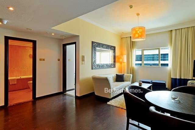 Hotel apartment | Fully furnished | High returns