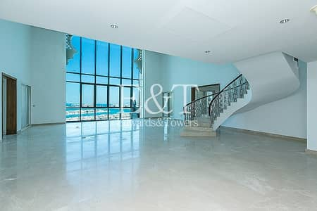 5 Bedroom Penthouse for Rent in Palm Jumeirah, Dubai - Luxury + Modern Penthouse|Full Sea View|Vacant|PJ
