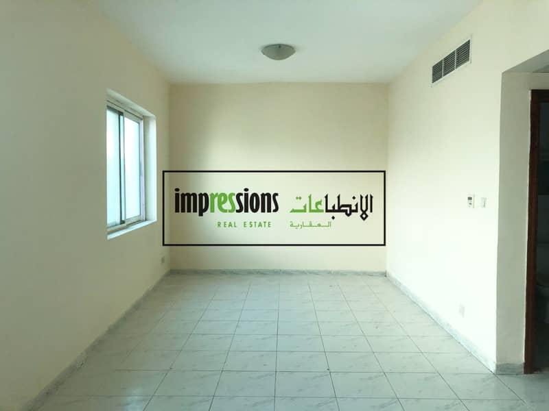 Big Size Studio flat with split central AC in Al Yarmook - Sharjah