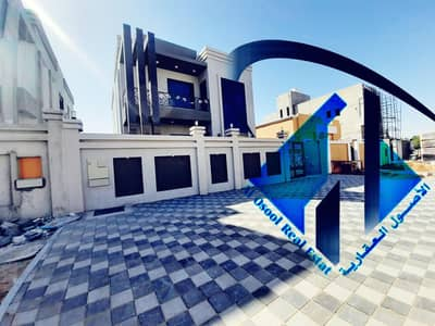 5 Bedroom Villa for Sale in Al Yasmeen, Ajman - Villa for sale at the price of a freehold snapshot for all nationalities and bank installments 25 years