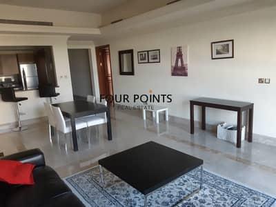 فلیٹ 1 غرفة نوم للايجار في نخلة جميرا، دبي - Furnished  1BR in Fairmont South