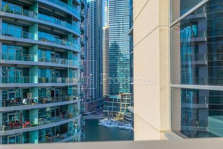 1 Bedroom Flat for Sale in Dubai Marina, Dubai - Partial Sea  & Pool VIews    Marina Tower