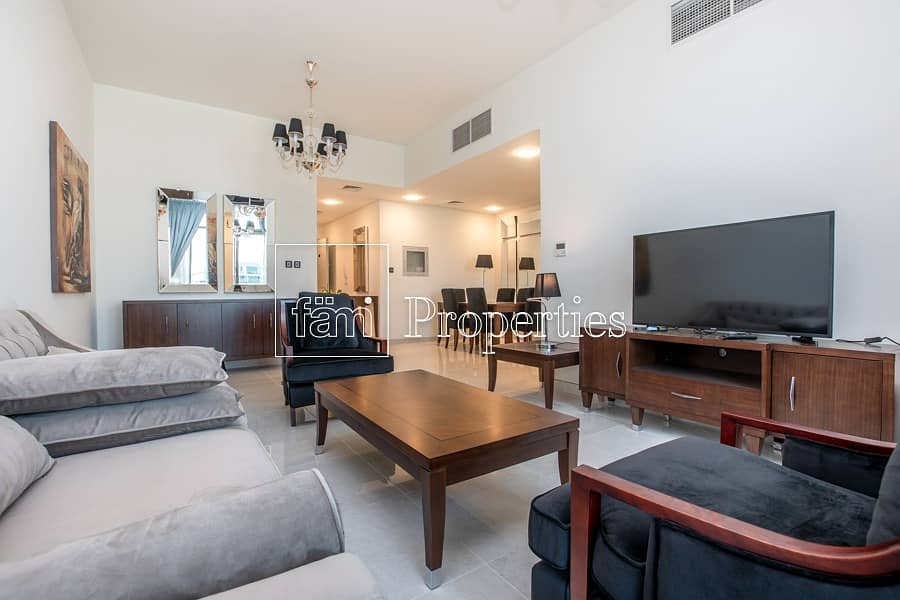 Spacious and Fully Furnished Apartment