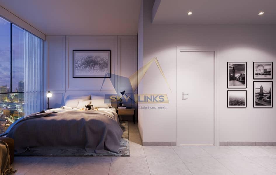 2 Elegant  2 Bedroom Apt with Large Balcony