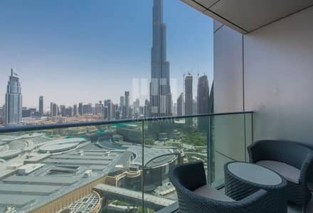 2 Bedroom Hotel Apartment for Sale in Downtown Dubai, Dubai - 2 BHK|Higher Floor|Ultramodern Unit| Burj Khalifa View