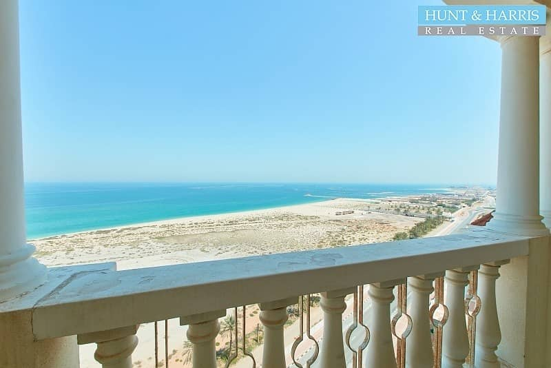 16 Luxury Apartment With Full Sea View - Closed Kitchen